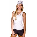Buff Body Ladies Tank, Large, White