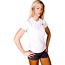 Buff Body Ladies Crew Tee, Large, White