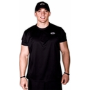 Buff Body Men's Crew Tee, XXL, Black