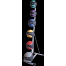 Cap Barbell 6 Tier Medicine Ball Set With Rack