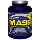 Vanilla - 5 lbs - MHP Up Your Mass Protein Powder