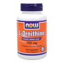 120 Caps - NOW L-Ornithine