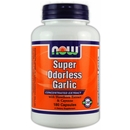 180 Capsules - NOW Super Odorless Garlic