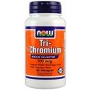 90 Vcaps - NOW Tri-Chromium