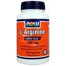 100 Capsules (500mg) - NOW L-Arginine
