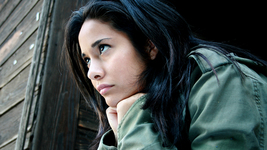 Teen-girl-hispanic-pensive