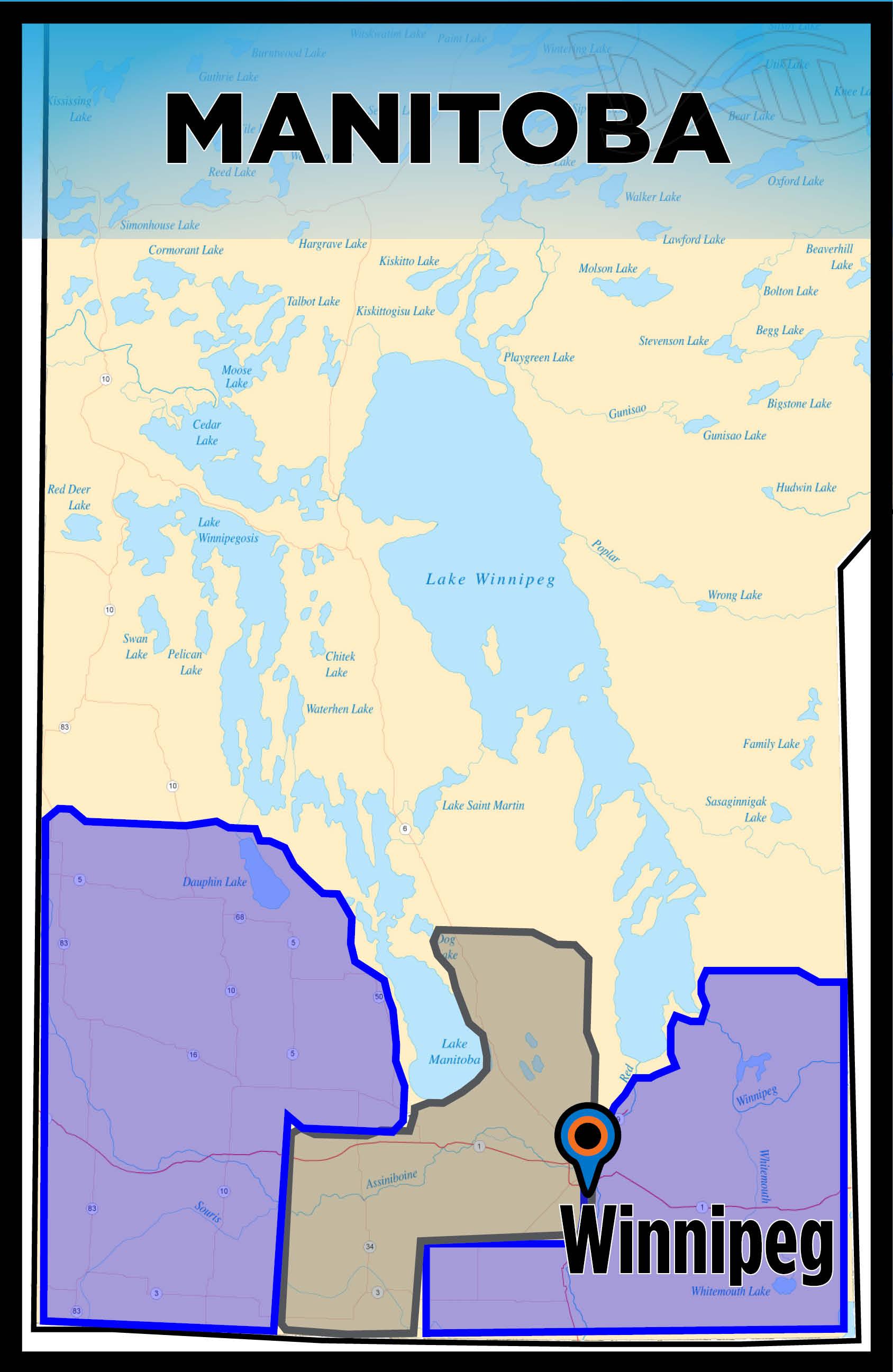 Manitoba Map Sales rep