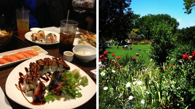 Sushi restaurant ⇨ Garden