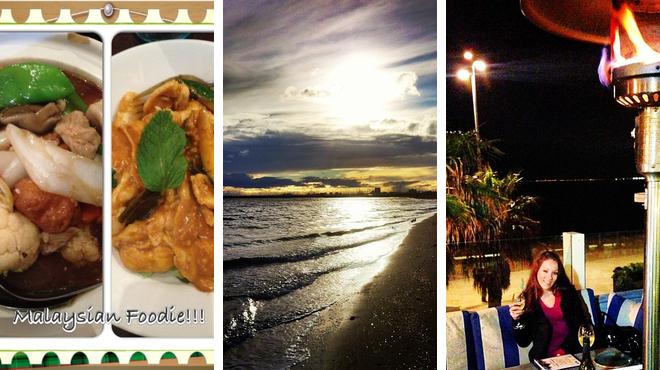 Malaysian restaurant ⇨ Beach ⇨ Bar