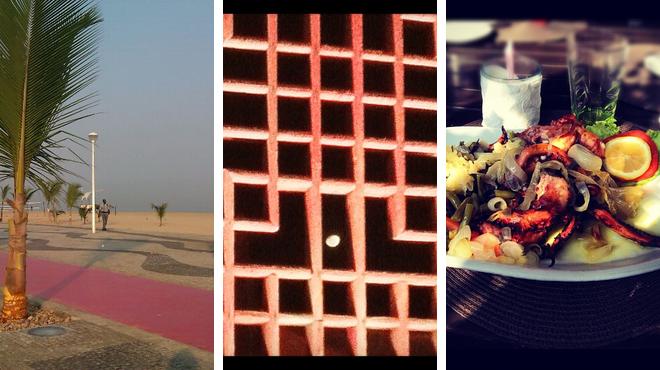 Beach ⇨ African restaurant ⇨ Lounge