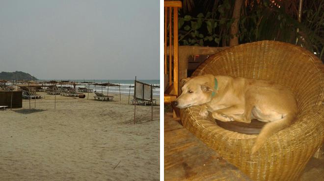 Beach ⇨ Italian restaurant