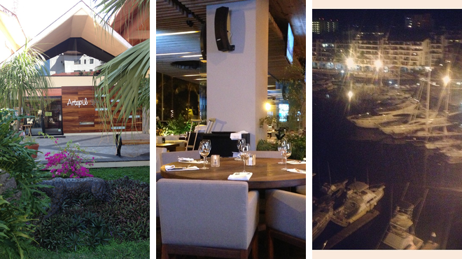 Couple's Massage ⇨ Steakhouse ⇨ Bar