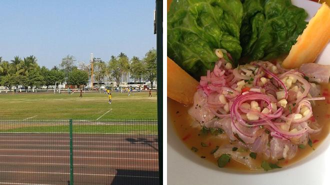 Athletics & sports ⇨ Seafood restaurant