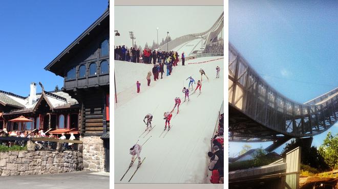 Scandinavian restaurant ⇨ Ski area ⇨ Experience exhibits