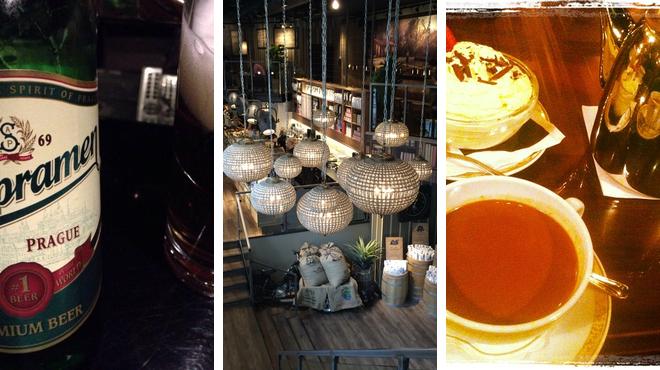 Jazz club ⇨ Coffee shop ⇨ Hotel bar
