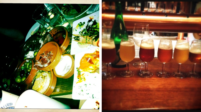 Tapas restaurant ⇨ Brewery