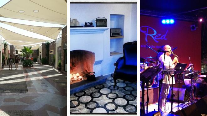 Mall ⇨ Greek restaurant ⇨ Nightclub