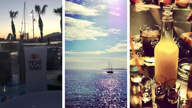 Seafood restaurant ⇨ Beach ⇨ Bar