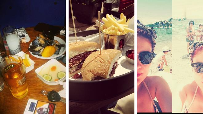 Jazz club ⇨ Burger joint ⇨ Beach bar