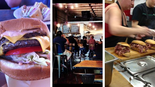 Sandwich place ⇨ Gastropub ⇨ Burger joint