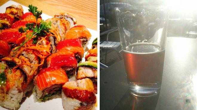 Sushi restaurant ⇨ Delicious Cocktails