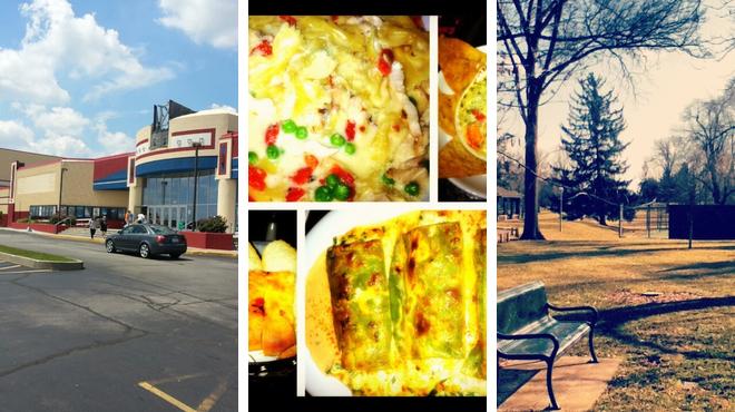 Catch a movie ⇨ Italian restaurant ⇨ Park