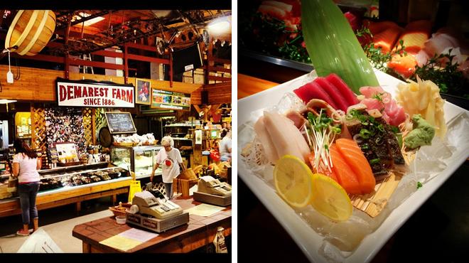 Farm ⇨ Japanese restaurant