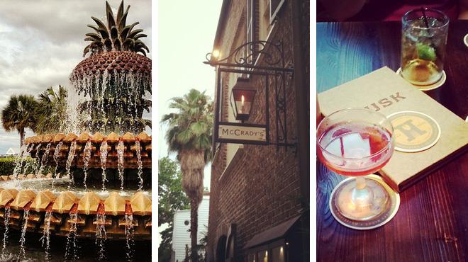 Park ⇨ New american restaurant ⇨ Delicious Cocktails