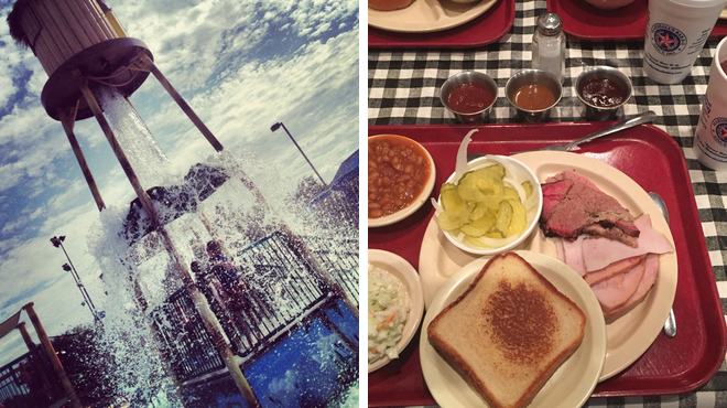Pool ⇨ Bbq joint