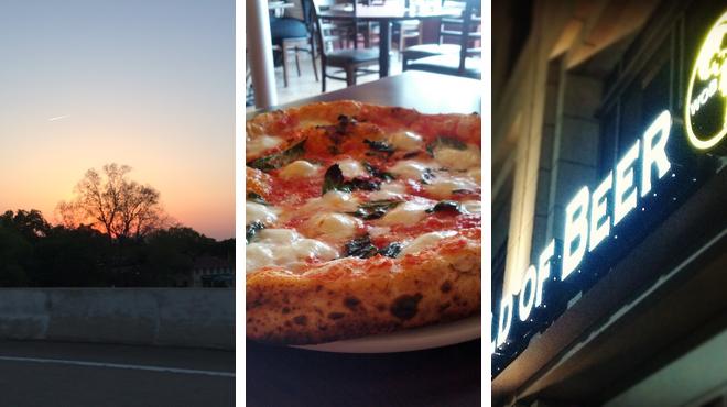 Park ⇨ Pizza place ⇨ Bar