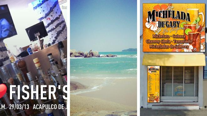 Seafood restaurant ⇨ Beach ⇨ Brewery