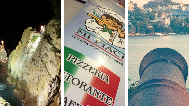 Scenic Views ⇨ Italian restaurant ⇨ Learn about history