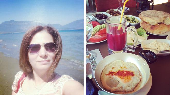 Beach ⇨ Turkish restaurant