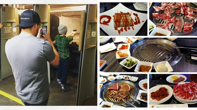 Korean restaurant ⇨ Have fun