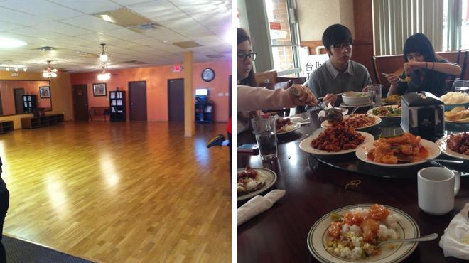 Chinese restaurant ⇨ Shake a leg