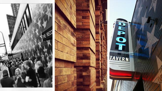 Music venue ⇨ Pizza place ⇨ Bar