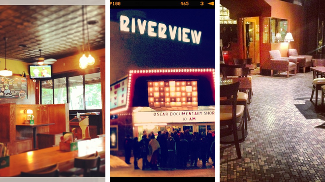 Burger joint ⇨ Catch a movie ⇨ Wine bar