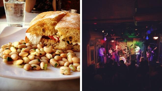 Italian restaurant ⇨ Karaoke bar