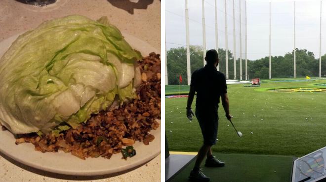 Asian restaurant ⇨ Golf course