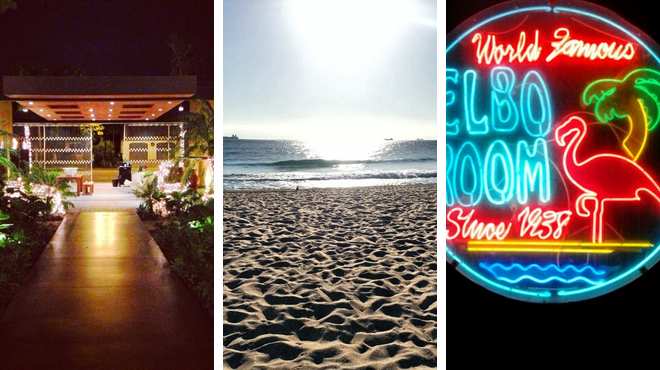 Brazilian restaurant ⇨ Beach ⇨ Bar