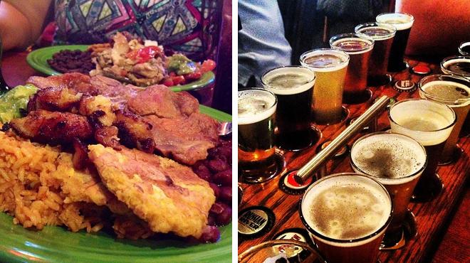 Latin american restaurant ⇨ Brewery