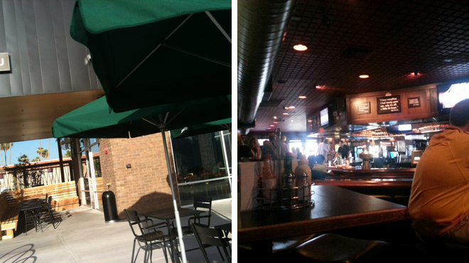 Coffee shop ⇨ Sports bar