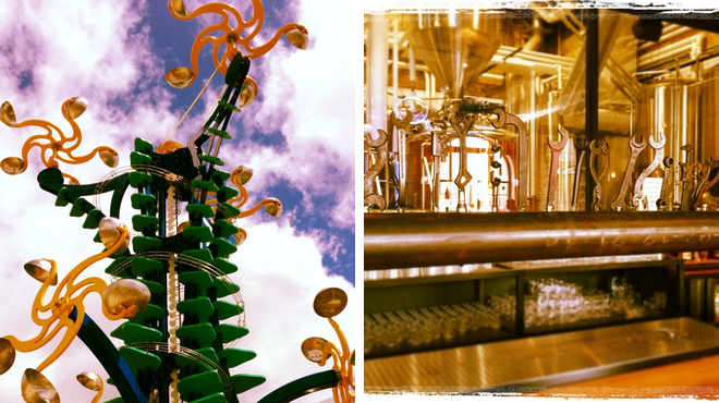 Experience exhibits ⇨ Brewery