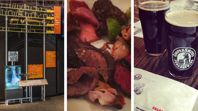 Experience exhibits ⇨ Steakhouse ⇨ Brewery
