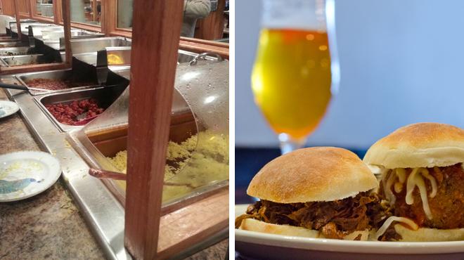Indian restaurant ⇨ Brewery