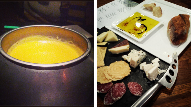 Fondue restaurant ⇨ Wine bar