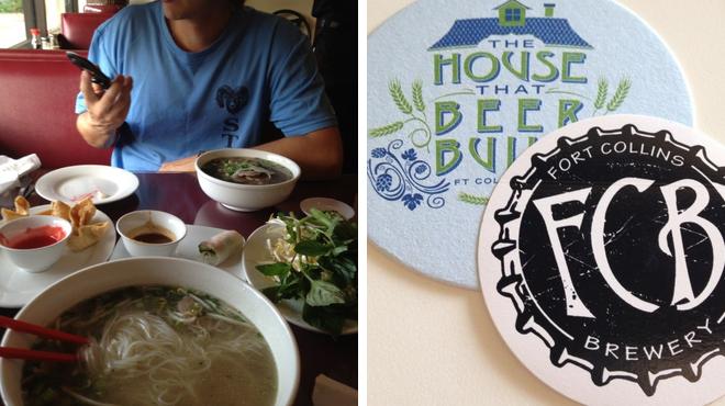 Vietnamese restaurant ⇨ Brewery