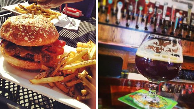 Burger joint ⇨ Beer garden