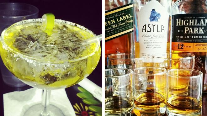 Mexican restaurant ⇨ Whisky bar