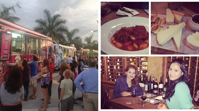Food truck ⇨ Wine bar